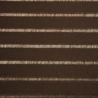Store Enrouleur Filtrant Chocolat Rayure Transparente 4455