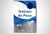 Notices de pose