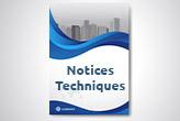 Notices techniques